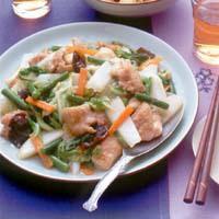 鶏肉と野菜の八宝菜風