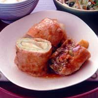 キャベツの豚肉ロール