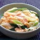 卵とツナの天津丼