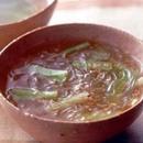 ブロッコリーの中華風スープ