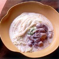 かきと白菜のクリーム煮