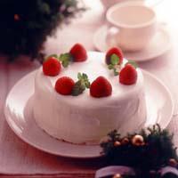 クリスマスのショートケーキ