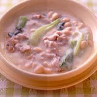 豚肉と青菜のクリームシチュー