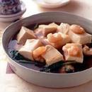 豆腐とほうれん草の中華風蒸し