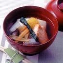 焼き鮭のすましの雑煮