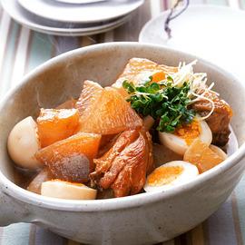 大根と鶏肉の甘辛煮