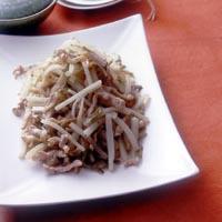 大根と豚肉のザーサイ炒め