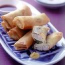 豆腐とかにの春巻き