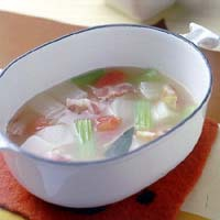 いろいろ野菜のポトフー風スープ