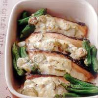 鮭のタルタルソースグラタン