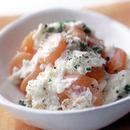 にんじんのグラッセのポテトサラダ