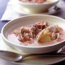 シーフードのトマトクリームスープ