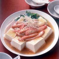 豆腐のかにあん煮