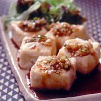 油淋鶏(イウリンジー)風豆腐