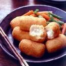 豆腐と帆立てのクリームコロッケ