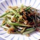 にんにくの茎の中華炒め