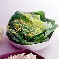 サラダ菜のミモザサラダ