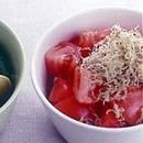 トマトとしらす干しのサラダ