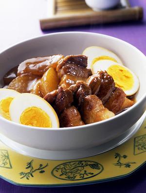 豚肉と大根のしょうゆ煮