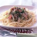 鮭ねぎスパゲティ