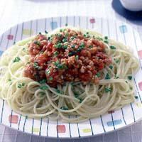 みそミートソーススパゲティ