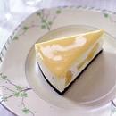 オレンジ レアチーズケーキ