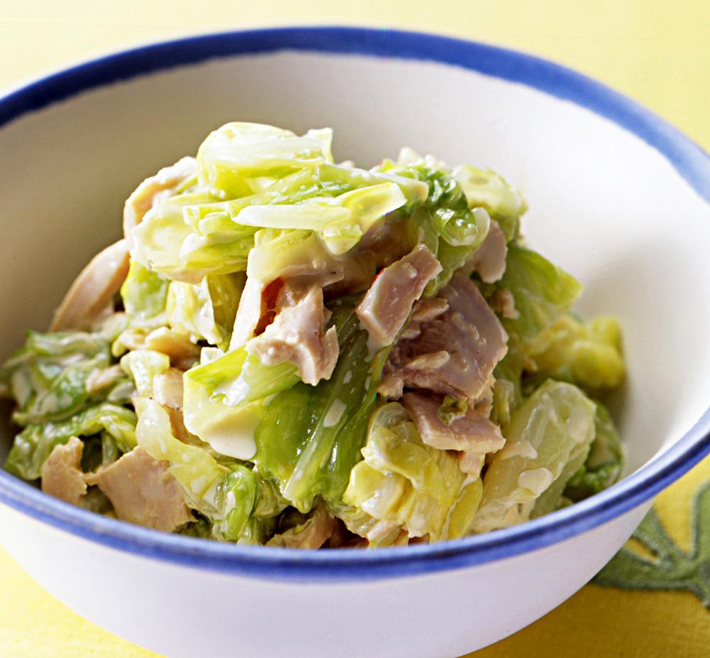 画像 : 簡単で美味しい!人気の「キャベツサラダ」のレシピ ...
