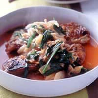 たち魚のキムチ煮