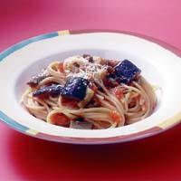トマトとなすのスパゲティ