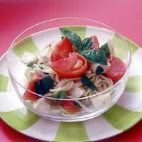 トマトの冷たいスパゲティ