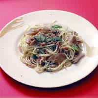 ツナの中華風スパゲティ