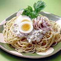 冷製タルタルスパゲティ
