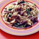 アスパラきのこスパゲティ