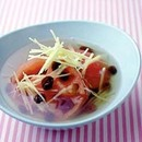 まるごとトマトのさっぱりスープ
