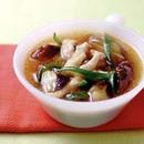 なすの中華香味スープ