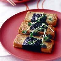 豆腐の梅風味磯辺焼き