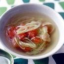 トマトとザーサイのスープ