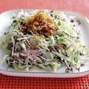 キャベツとカリカリしらすのサラダ
