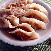 豚キムチ焼き餃子