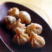 ザーサイ枝豆揚げ餃子