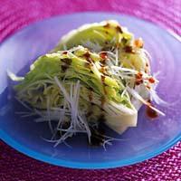 レタスの中華サラダ