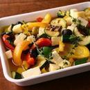 焼き野菜とチーズのマリネ