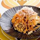 豆腐とにんじんのチャンプルー