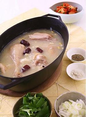 簡単参鶏湯(サムゲタン)
