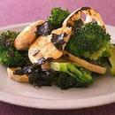 野菜とささ身の蒸し焼き のり風味