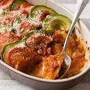 トマトとチキンのオーブン焼き