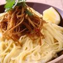 きんぴらチーズクリームスパゲティ