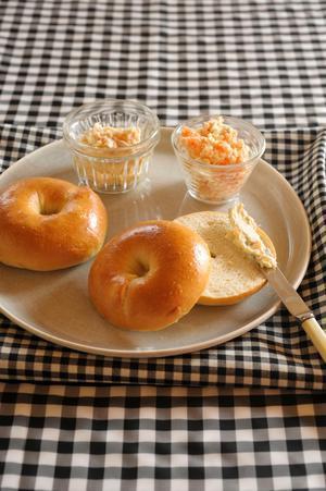 ベーグル&クリームチーズディップ