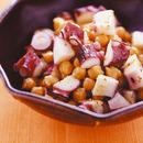 たことひよこ豆のサラダ