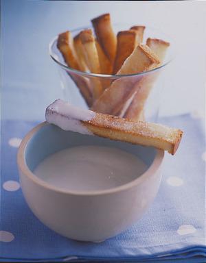 食パンラスク ヨーグルトディップ